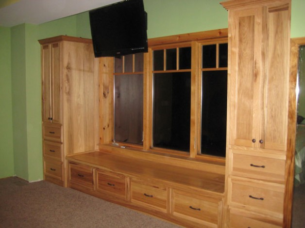 Built In Bedroom Cabinets Kenton Construction