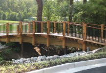 Timber Framed Bridge