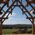 Moyer home timber frame