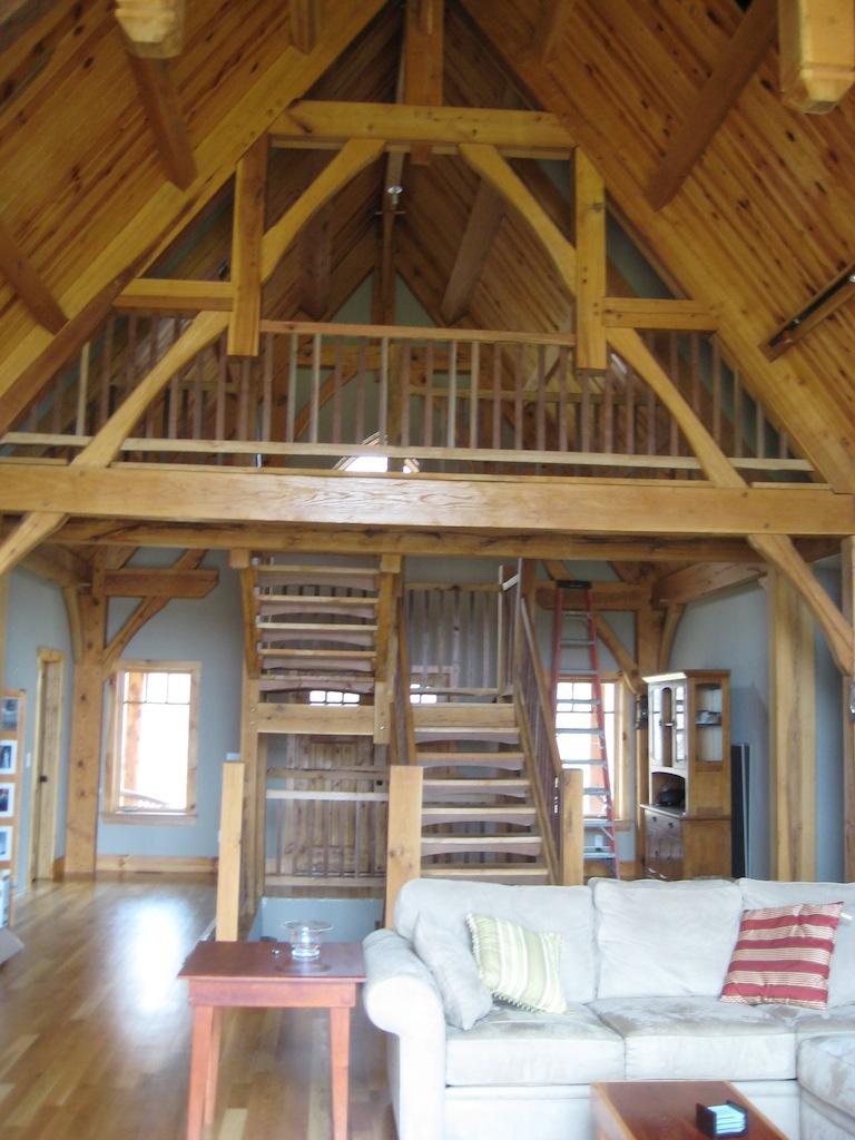 moyer timber frame home construction kenton construction moyer timber frame3