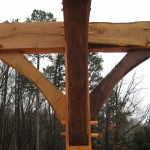 Moyer home timber frame construction